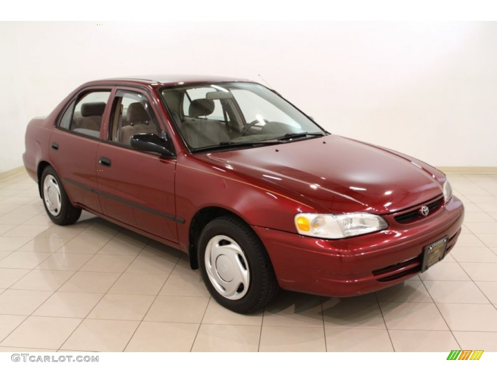 1999 venetian red pearl toyota corolla ce 54256857. Black Bedroom Furniture Sets. Home Design Ideas