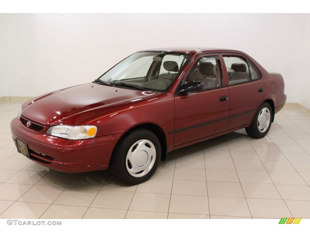 1999 venetian red pearl toyota corolla ce 54256857 photo. Black Bedroom Furniture Sets. Home Design Ideas