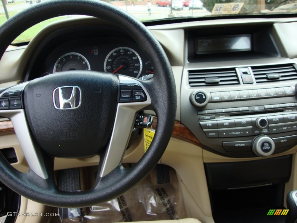 2008 Honda Accord Ex Sedan Ivory Dashboard Photo 54357697