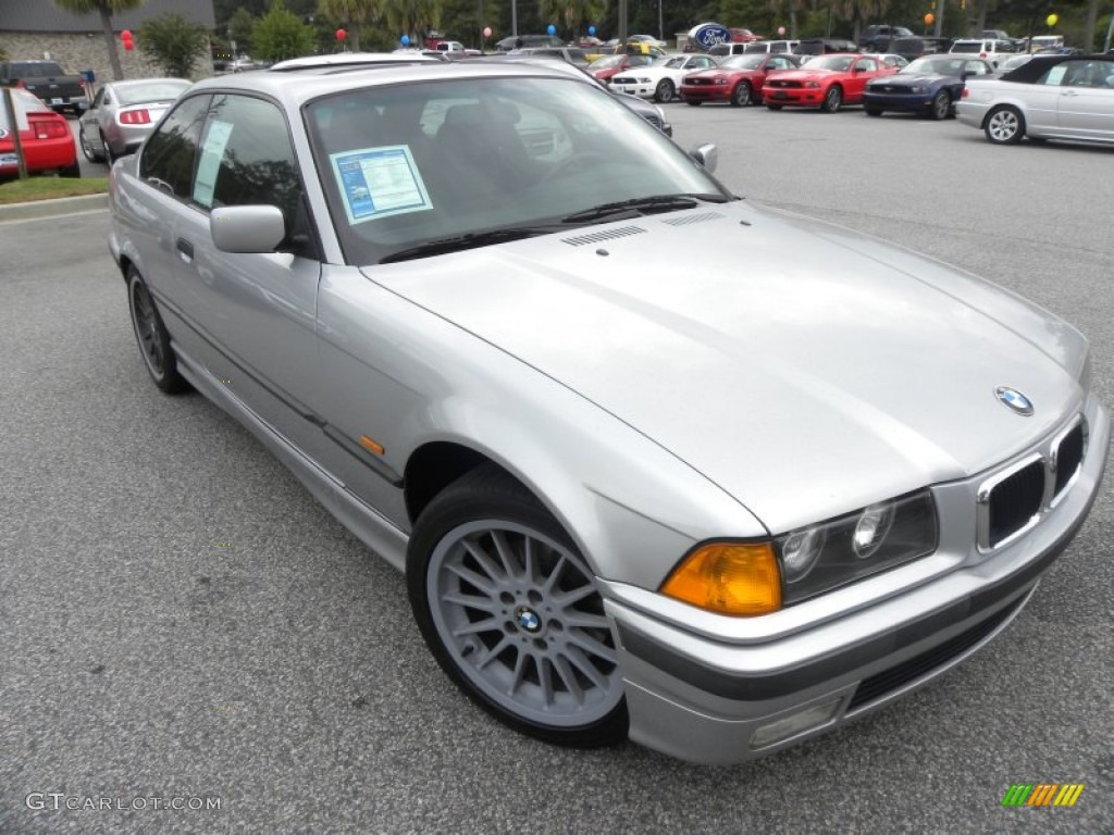 1998 Arctic Silver Metallic Bmw 3 Series 323is Coupe