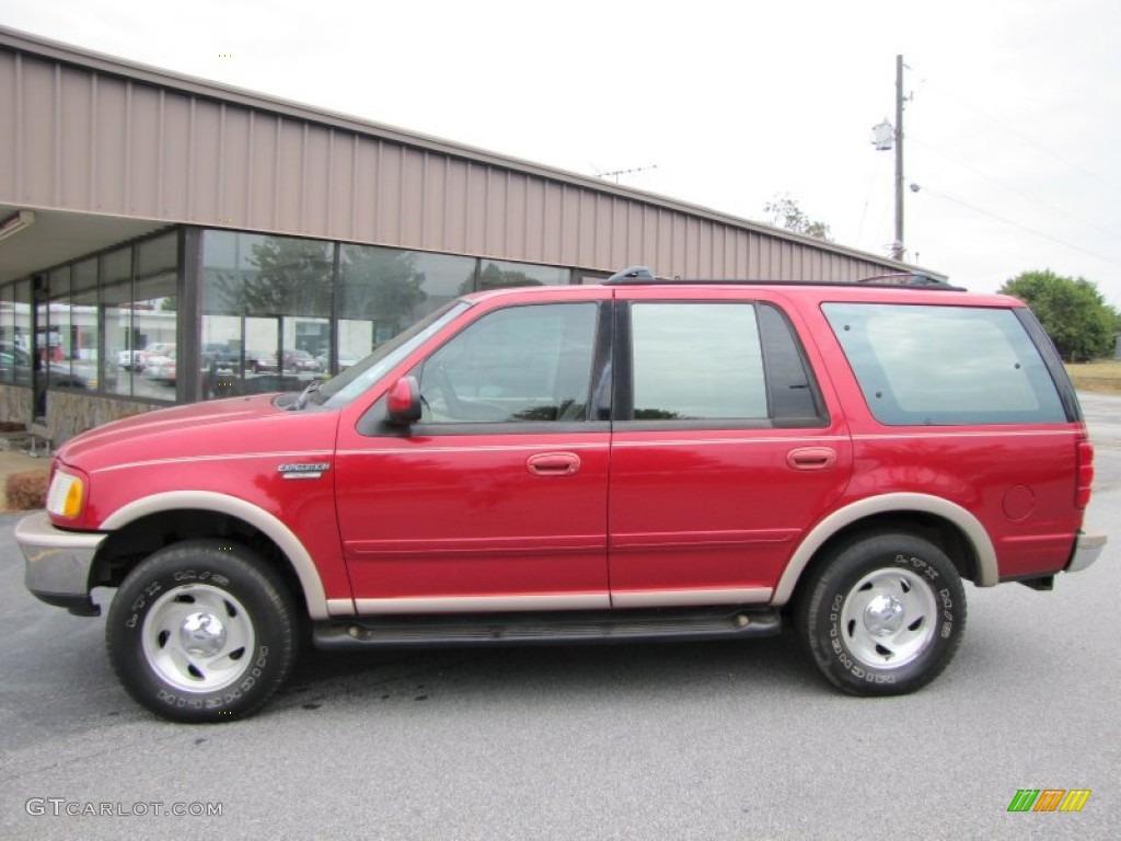 1997 laser red metallic ford expedition eddie bauer 4x4 54256107 photo 4 car. Black Bedroom Furniture Sets. Home Design Ideas