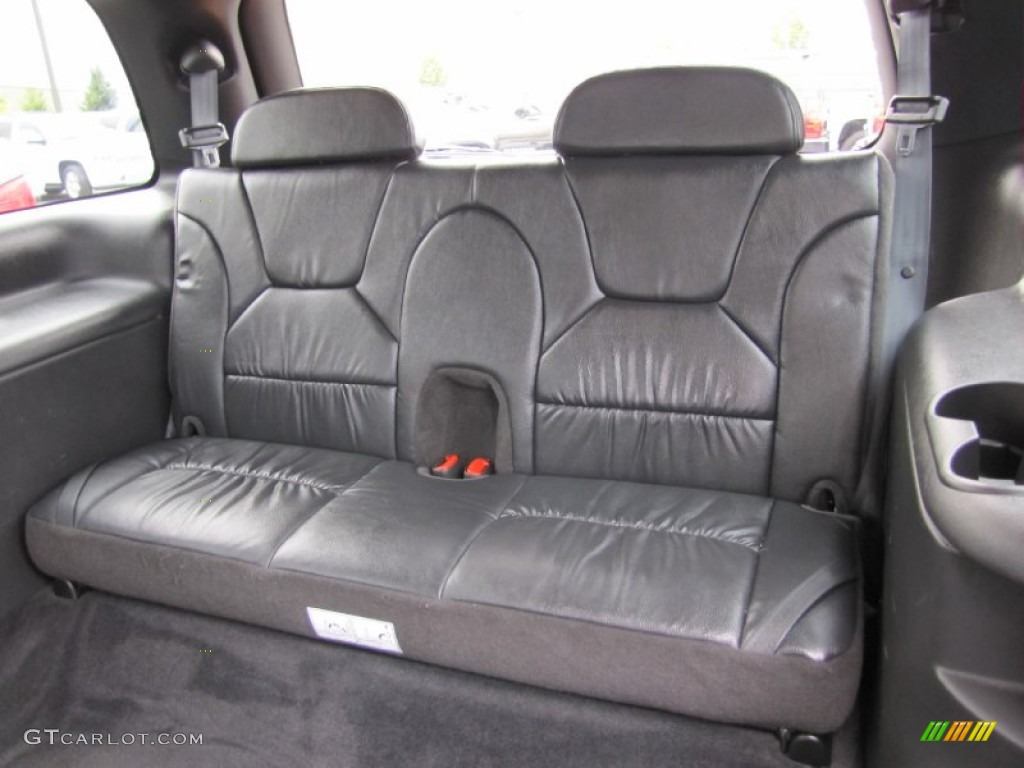 2001 dodge durango slt interior
