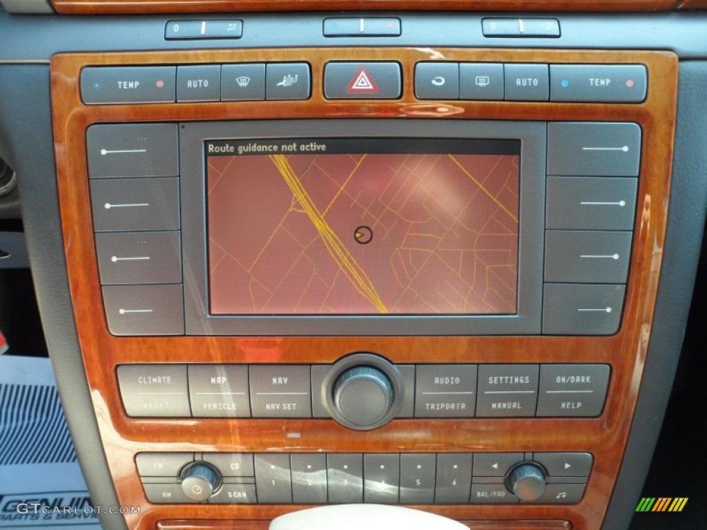 2004 volkswagen phaeton v8 4motion sedan navigation photos. Black Bedroom Furniture Sets. Home Design Ideas