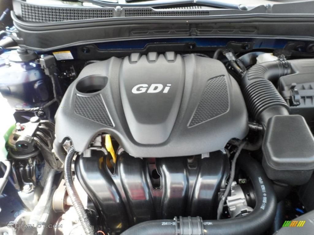 2012 Hyundai Sonata Gls 2 4 Liter Gdi Dohc 16 Valve D Cvvt 4 Cylinder Engine Photo 54373762