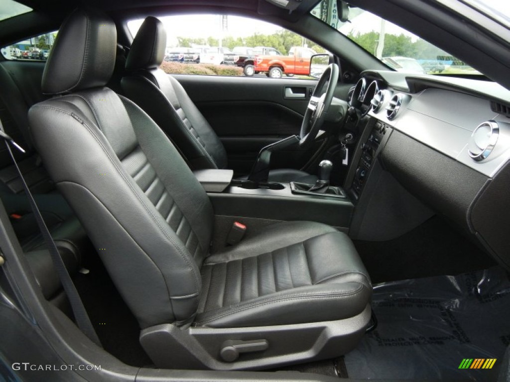 Dark Charcoal Interior 2008 Ford Mustang Gt Premium Coupe Photo 54382038