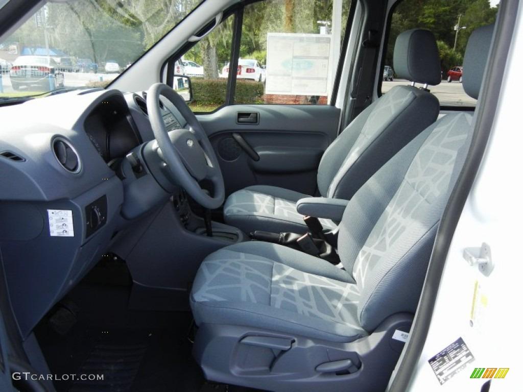 Dark Grey Interior 2012 Ford Transit Connect Xlt Van Photo 54382558