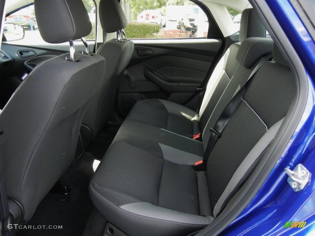 2012 Focus S Sedan - Sonic Blue Metallic / Charcoal Black photo #6