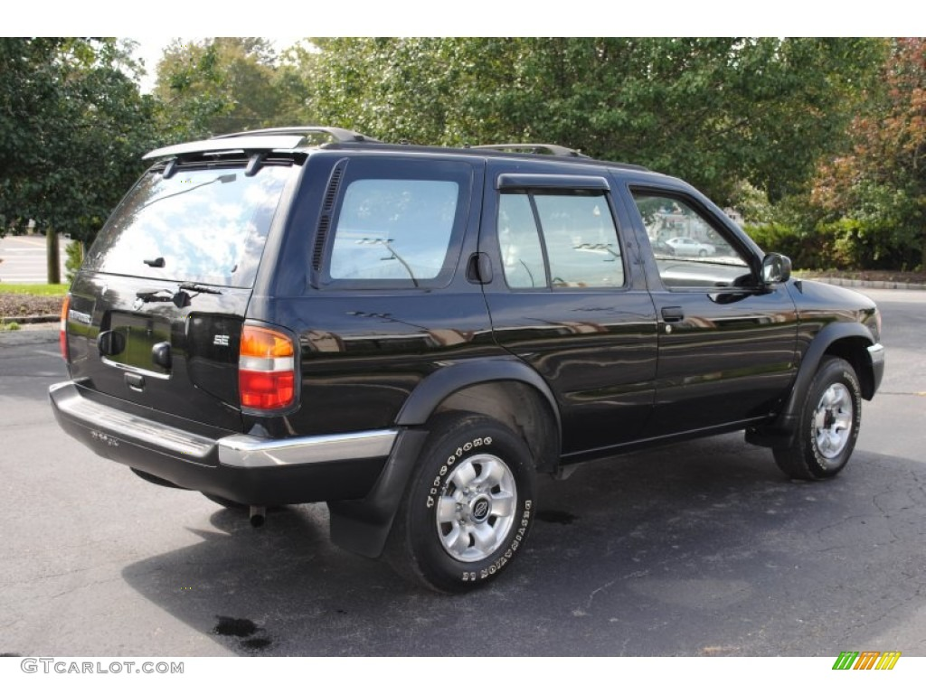 Super Black 1997 Nissan Pathfinder SE 4x4 Exterior Photo ...