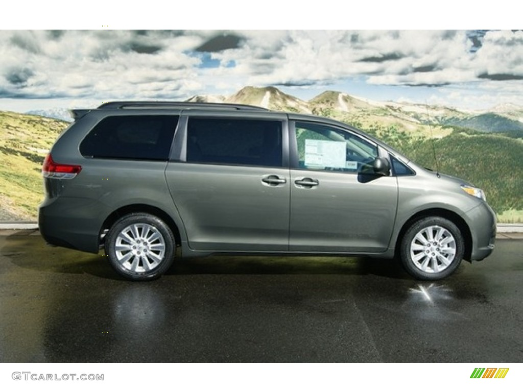 cypress green pearl 2012 toyota sienna le awd exterior. Black Bedroom Furniture Sets. Home Design Ideas