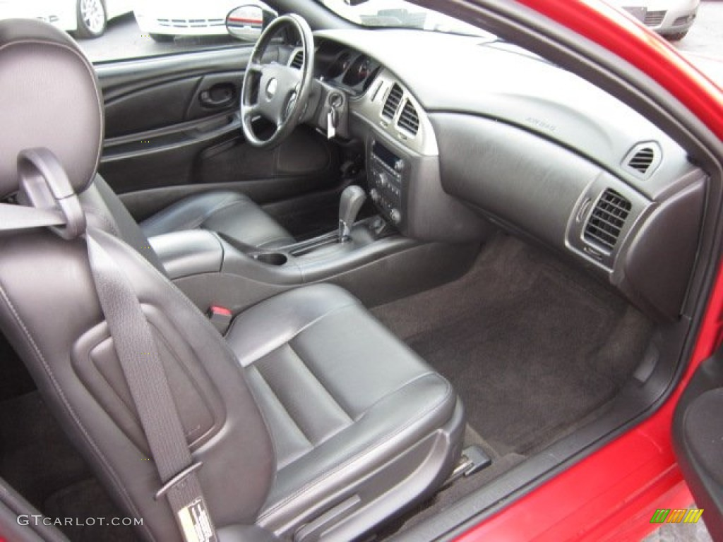 Ebony Interior 2006 Chevrolet Monte Carlo Ss Photo 54405847