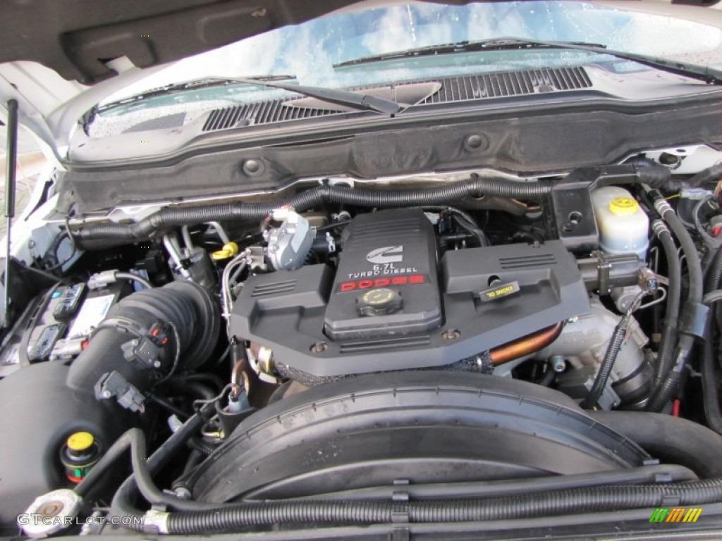 2007 Dodge Ram 3500 SLT Quad Cab Dually 6.7 Liter OHV 24-Valve Turbo Diesel Inline 6 Cylinder Engine Photo #54407962