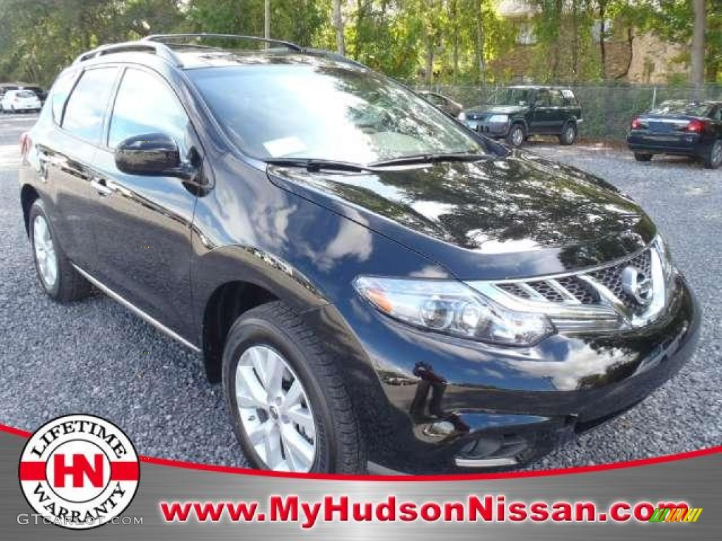2011 Murano SL - Super Black / Beige photo #1