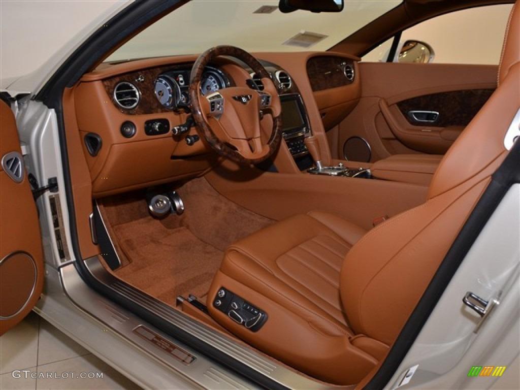Dark Bourbon Interior 2012 Bentley Continental Gt Standard Continental Gt Model Photo 54412795