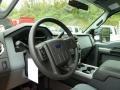 2012 Ingot Silver Metallic Ford F250 Super Duty XLT Crew Cab 4x4  photo #12