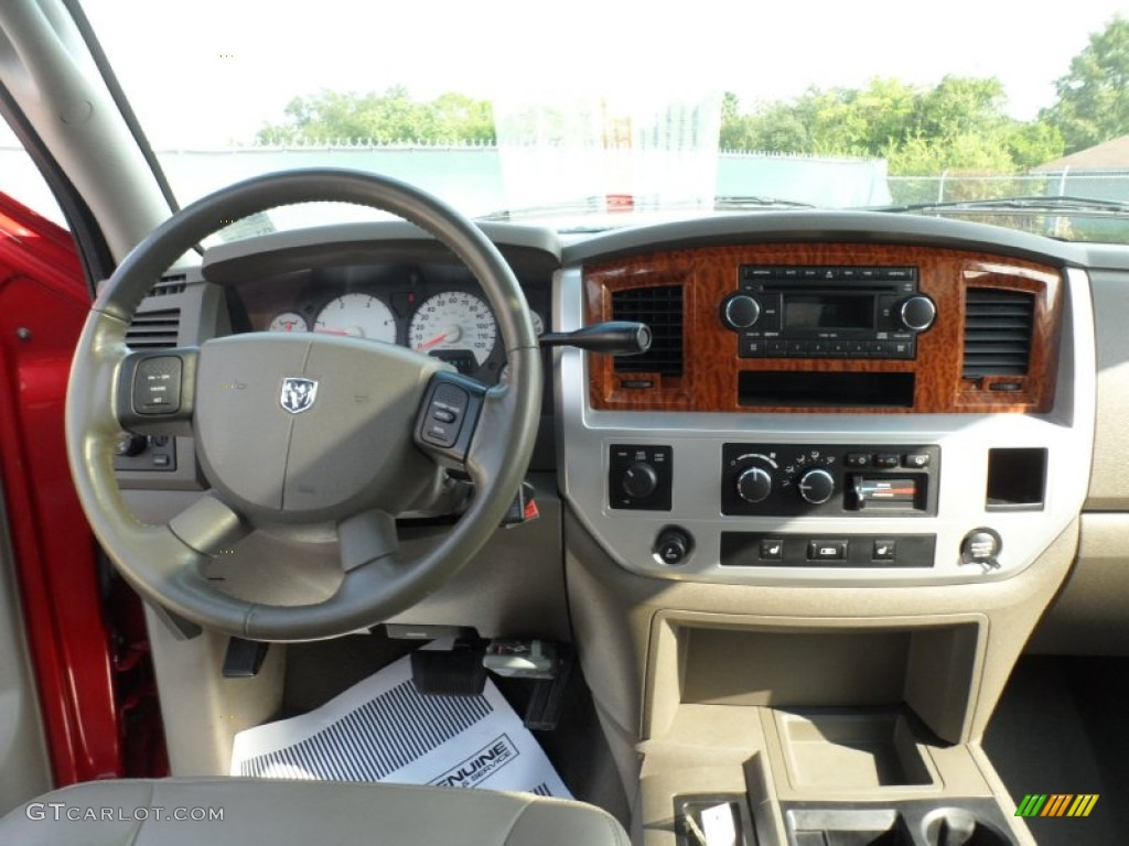 2007 Dodge Ram 2500 Slt Mega Cab 4x4 Khaki Dashboard Photo 54420939 Gtcarlot Com