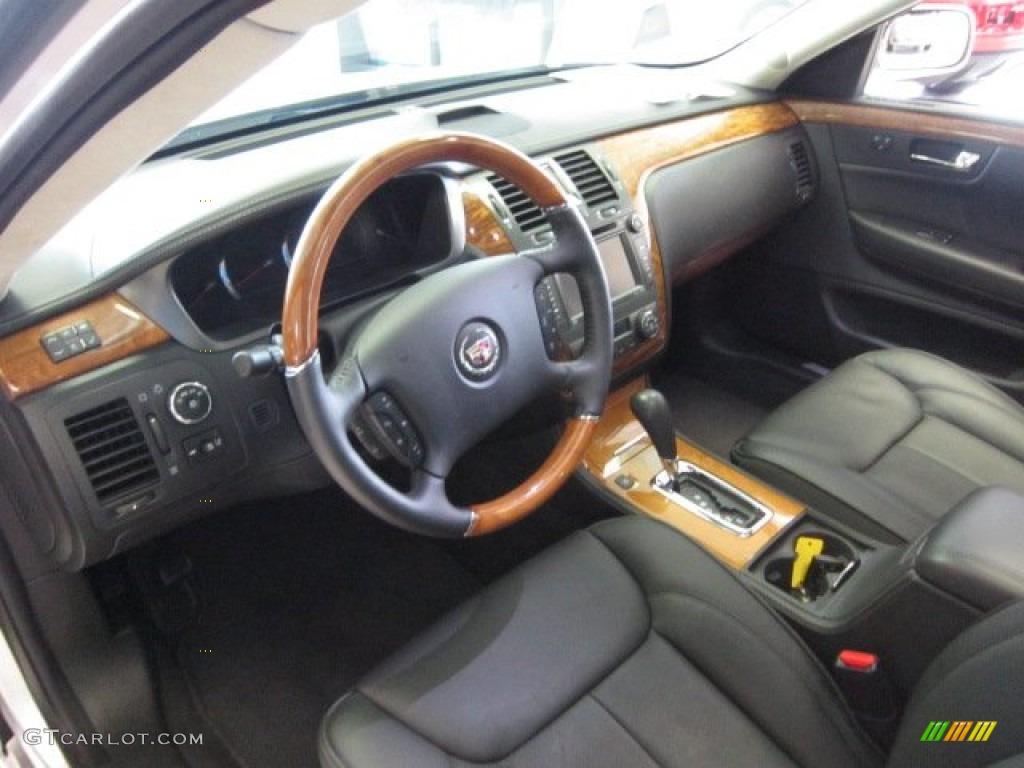 Ebony Interior 2011 Cadillac Dts Platinum Photo 54423381