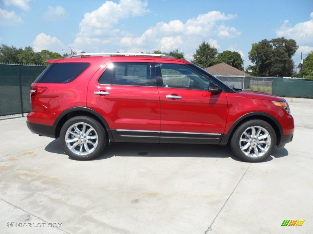 2000 Ford Explorer Red >> Red Candy Metallic 2012 Ford Explorer XLT Exterior Photo #54424074 | GTCarLot.com