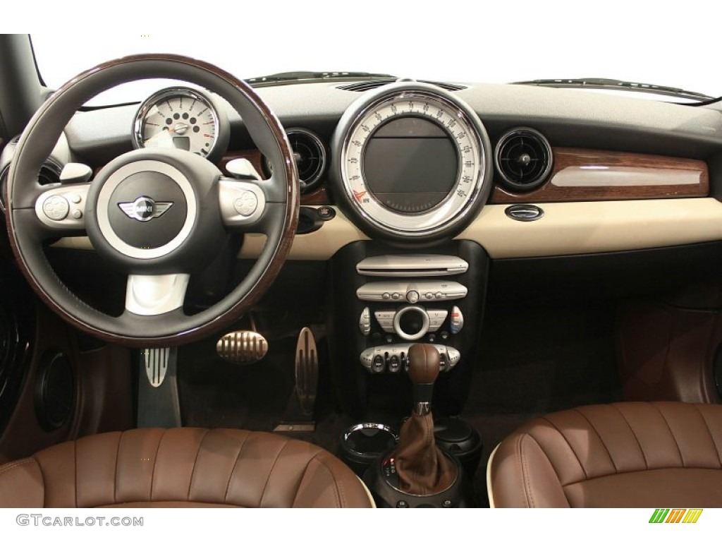2008 Mini Cooper S Clubman Lounge Hot Chocolate Dashboard