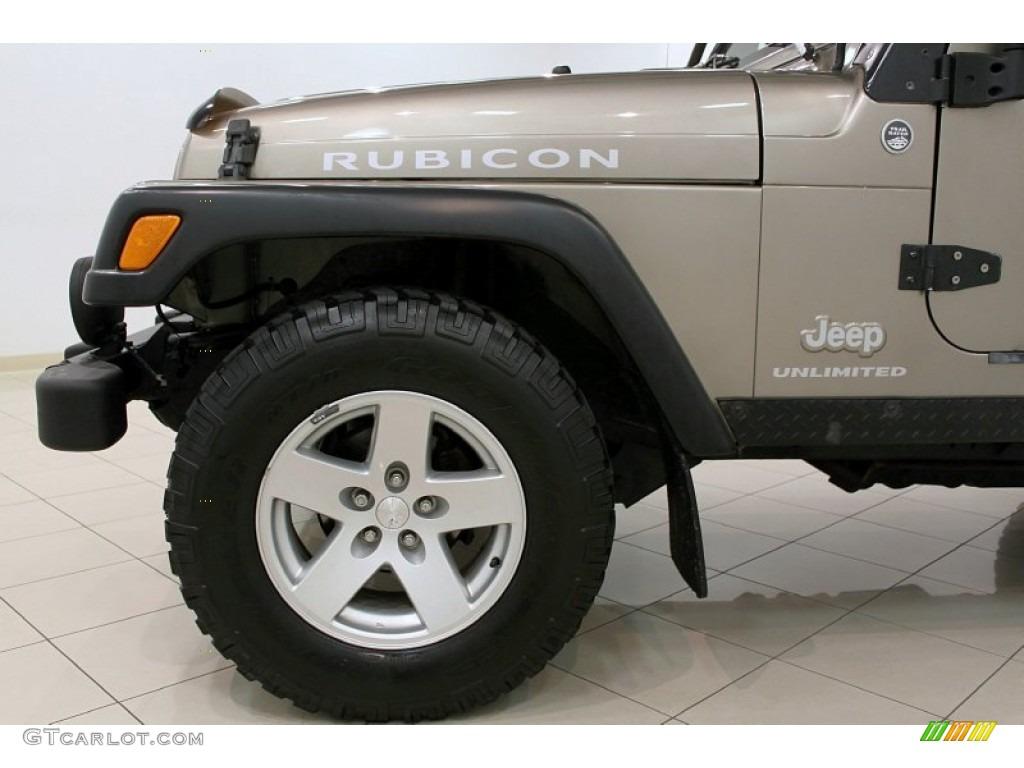 1995 Jeep Wrangler Se 2006 Jeep Wrangler Unlimited Rubicon 4x4 Wheel Photo ...