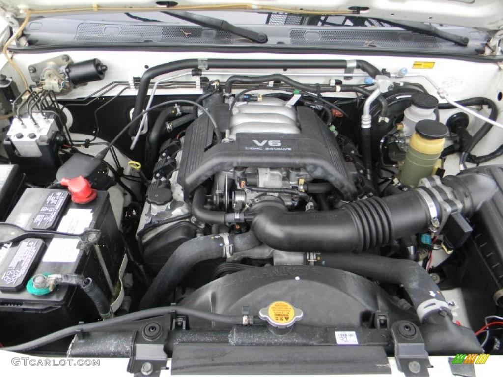 1999 Isuzu Rodeo S 3 2 Liter Dohc 24 Valve V6 Engine Photo
