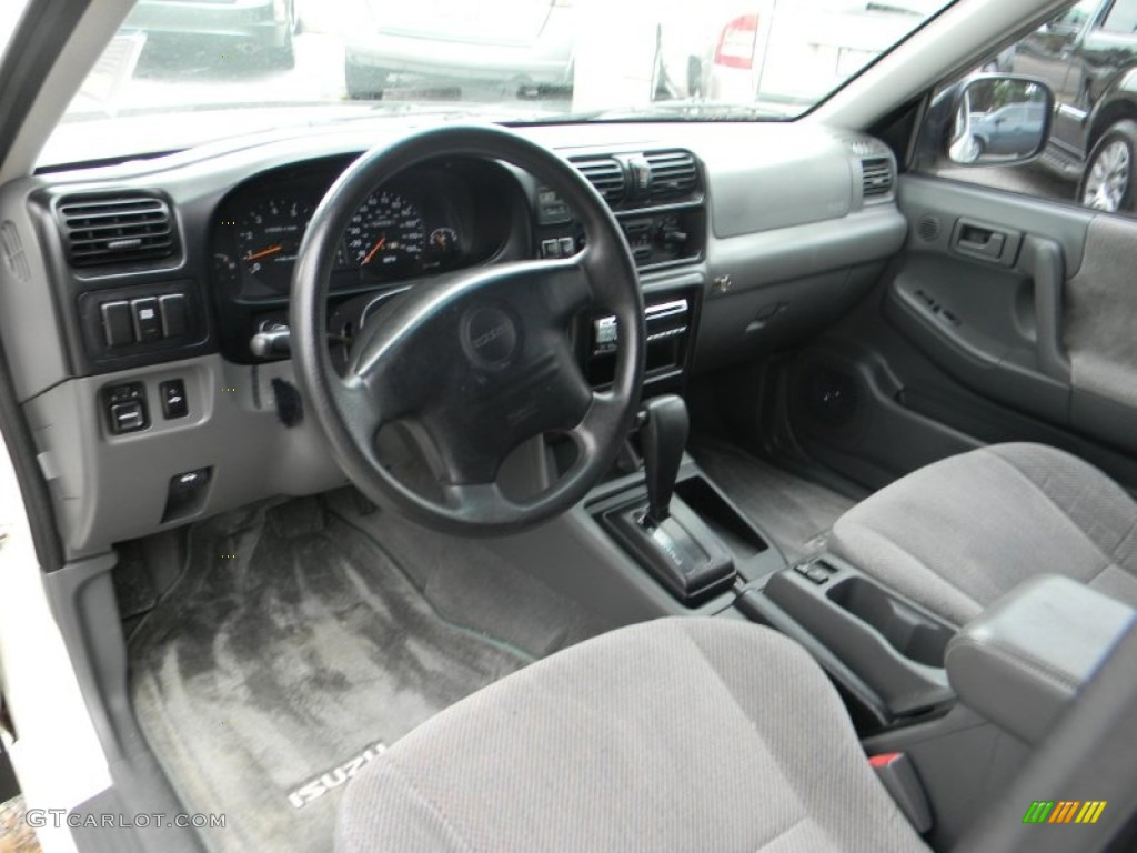 Isuzu rodeo interior viewing gallery