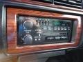 1995 Cadillac DeVille Black Interior Audio System Photo
