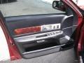 2003 Lincoln LS Black Interior Door Panel Photo