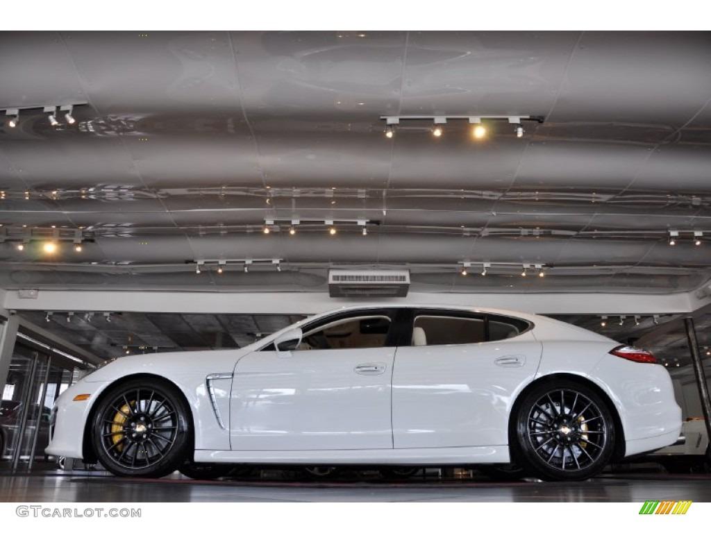 Carrara White 2011 Porsche Panamera Turbo Exterior Photo 54450965