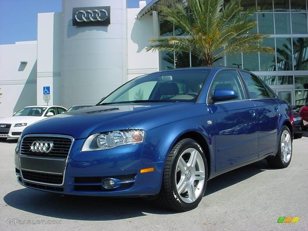 2006 ocean blue pearl effect audi a4 2 0t sedan 5427332 car color galleries. Black Bedroom Furniture Sets. Home Design Ideas