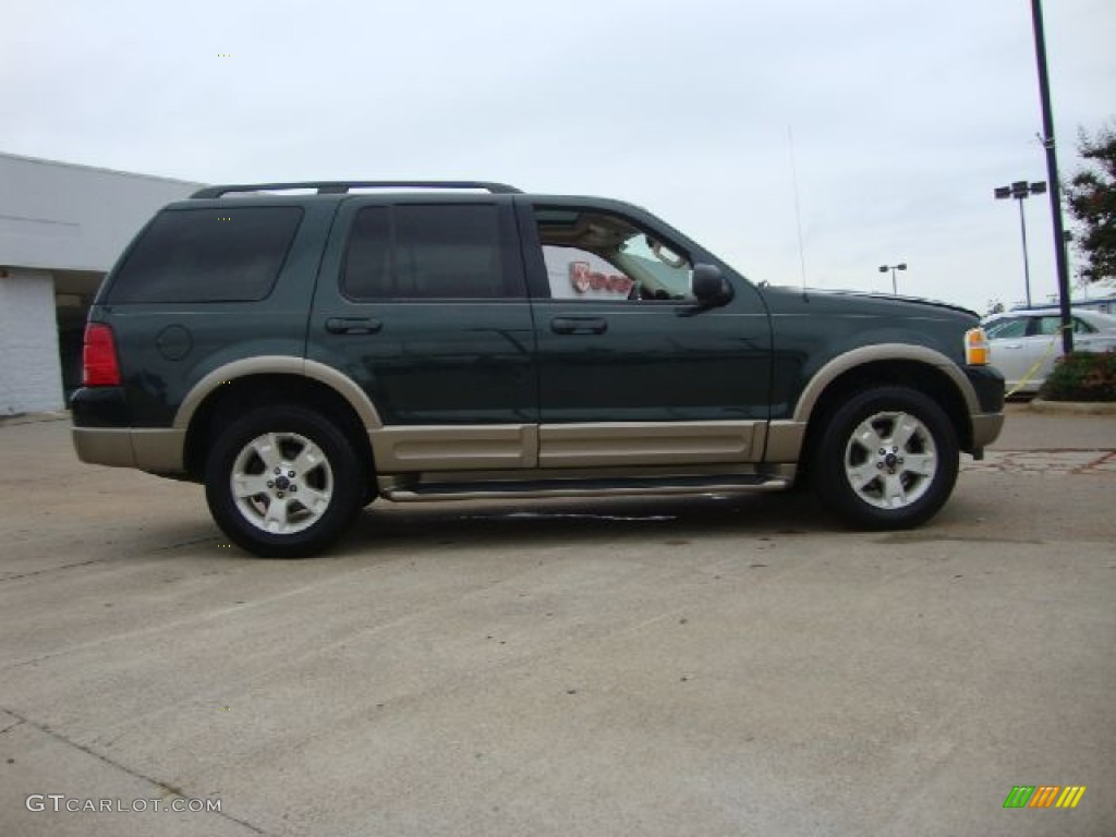 aspen green metallic 2003 ford explorer eddie bauer awd exterior photo 54454491. Black Bedroom Furniture Sets. Home Design Ideas