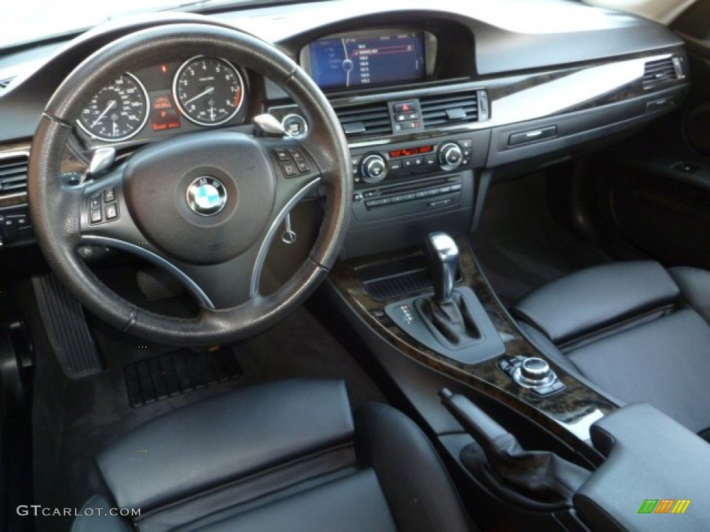 Black Interior 2010 Bmw 3 Series 335i Coupe Photo
