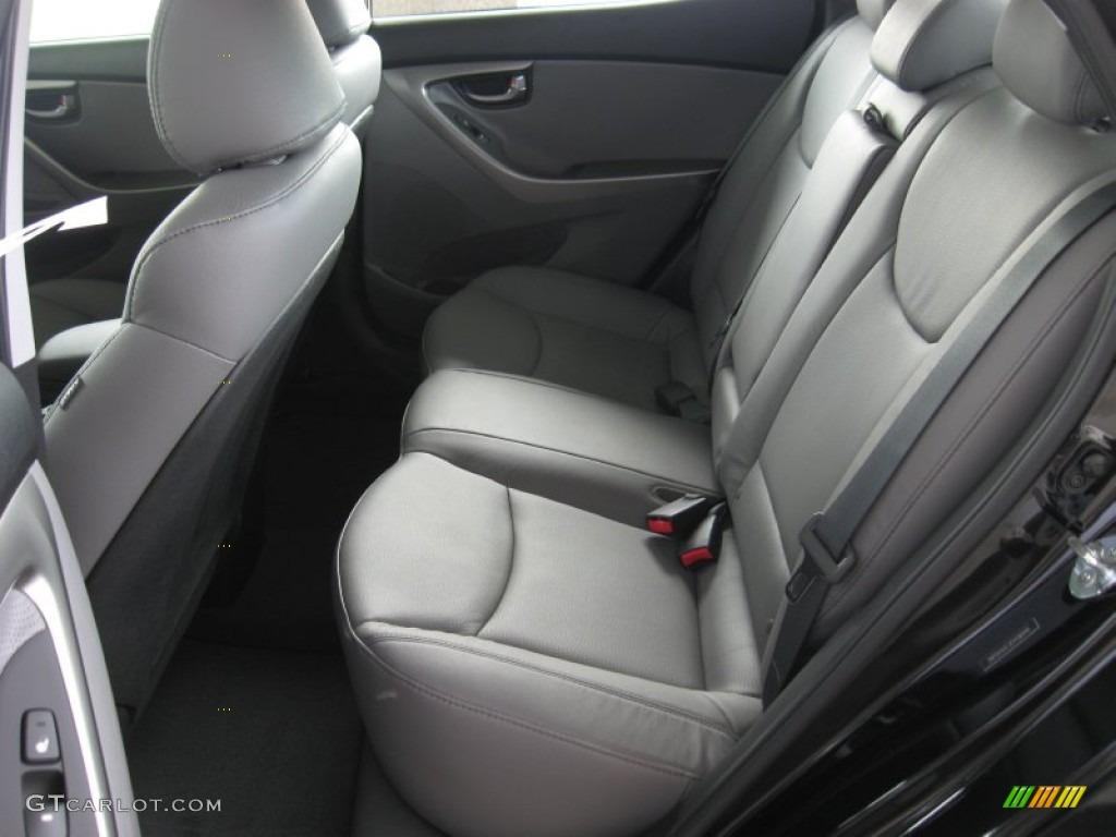 Gray Interior 2012 Hyundai Elantra Limited Photo 54465544 Gtcarlot Com