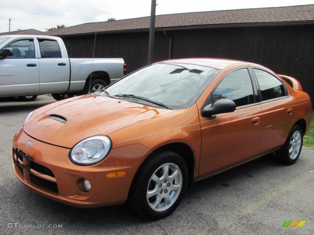 2005 orange blast pearlcoat dodge neon sxt #54419231 | gtcarlot