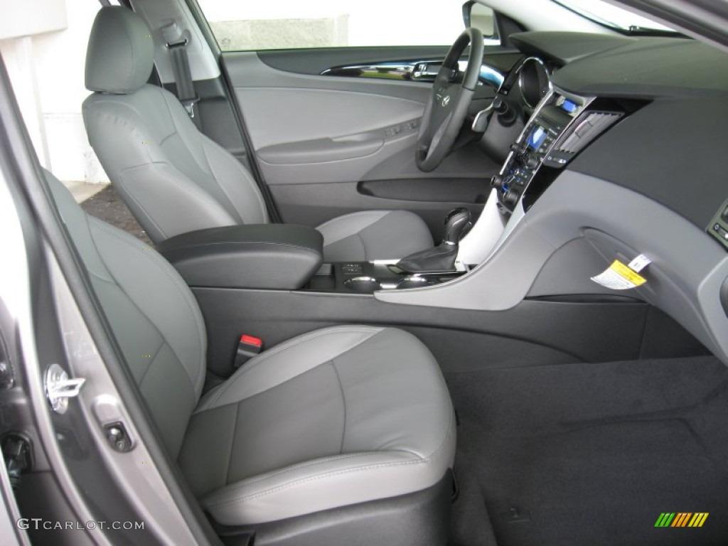 Gray Interior 2012 Hyundai Sonata Limited 2 0t Photo 54466089