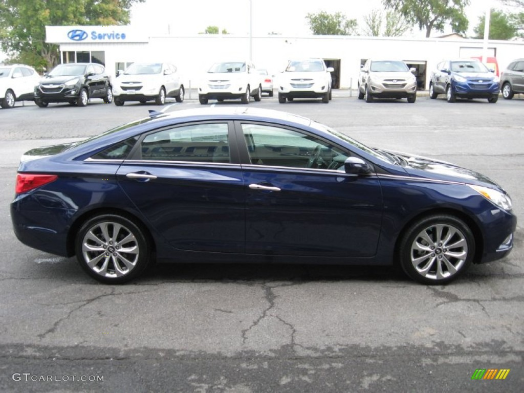 Indigo Night Blue 2012 Hyundai Sonata Se 2 0t Exterior Photo 54466218 Gtcarlot Com