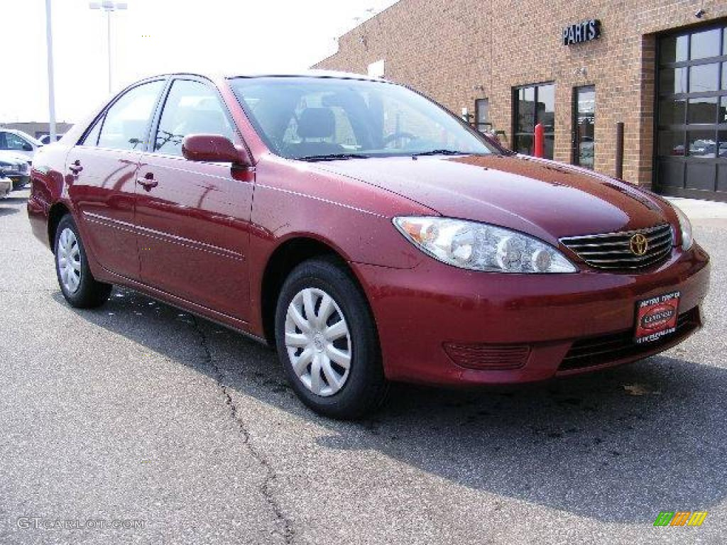 2006 salsa red pearl toyota camry le 5427012 car color galleries. Black Bedroom Furniture Sets. Home Design Ideas