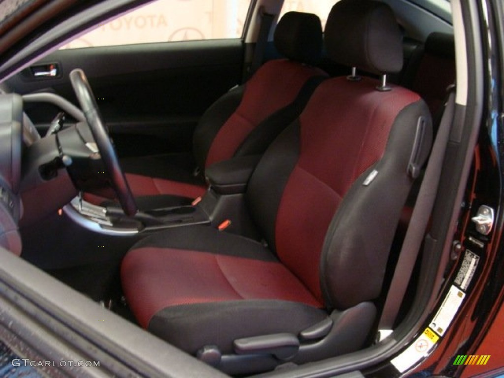 dark charcoal interior 2009 scion tc release series 5 0. Black Bedroom Furniture Sets. Home Design Ideas
