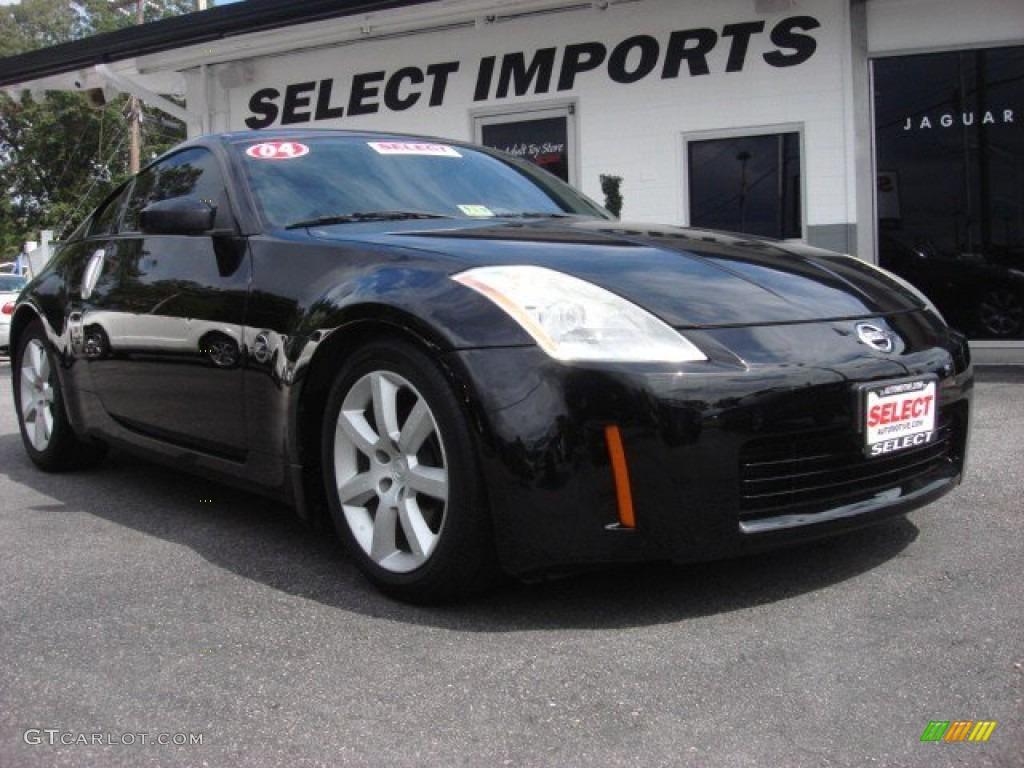 2004 super black nissan 350z coupe 54418290 gtcarlot car 2004 350z coupe super black carbon black photo 1 vanachro Images