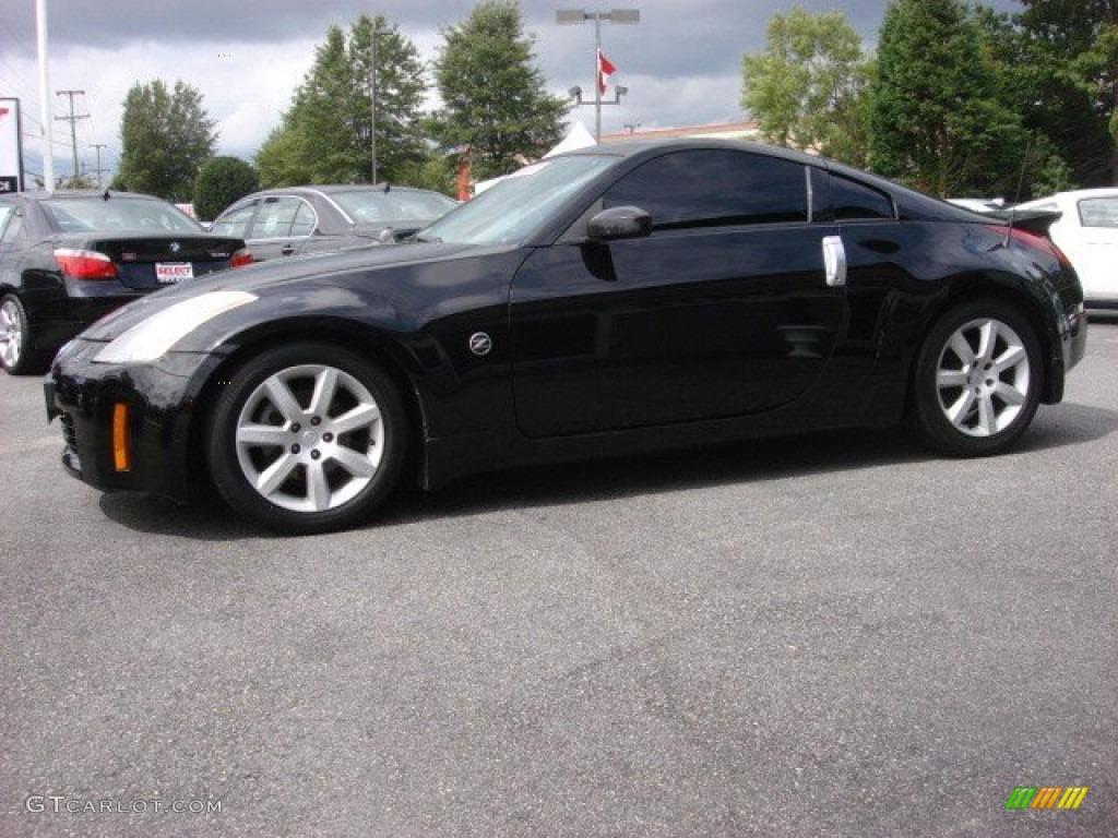 2004 Super Black Nissan 350z Coupe 54418290 Photo 6