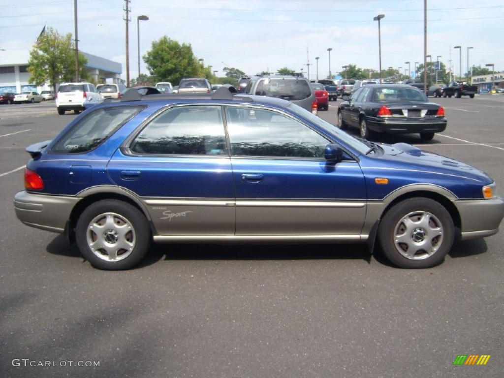 2001 Blue Ridge Pearl Subaru Impreza Outback Sport Wagon