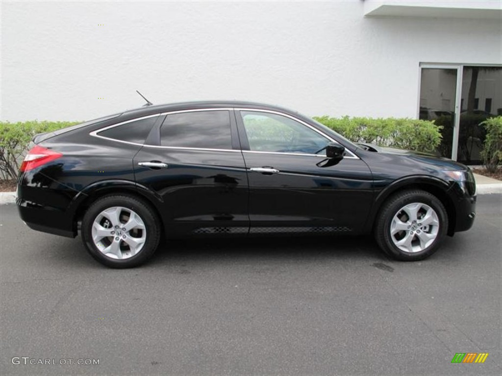Crystal Black Pearl 2012 Honda Accord Crosstour Ex L
