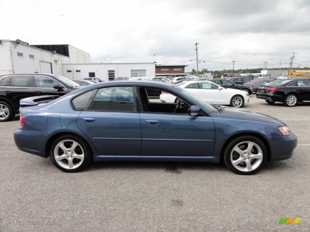 Atlantic Blue Pearl 2005 Subaru Legacy 2 5 Gt Sedan Exterior Photo 54483581 Gtcarlot Com