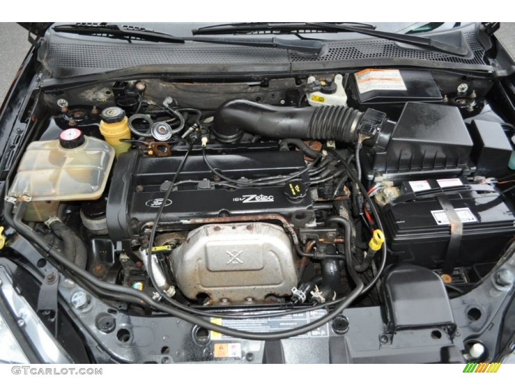 2001       Ford       Focus    ZTS Sedan 20 Liter DOHC 16 Valve Zetec 4