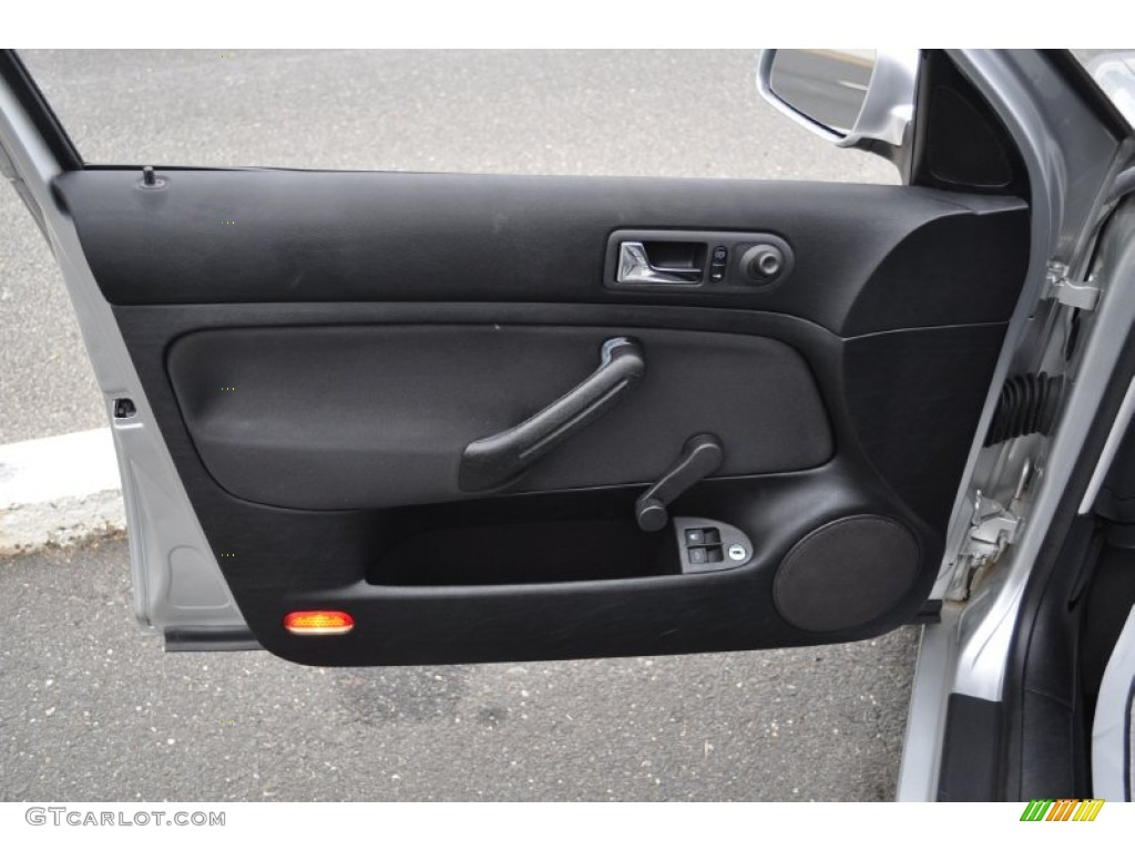 2001 Volkswagen Jetta Gl Sedan Black Door Panel Photo 54485468