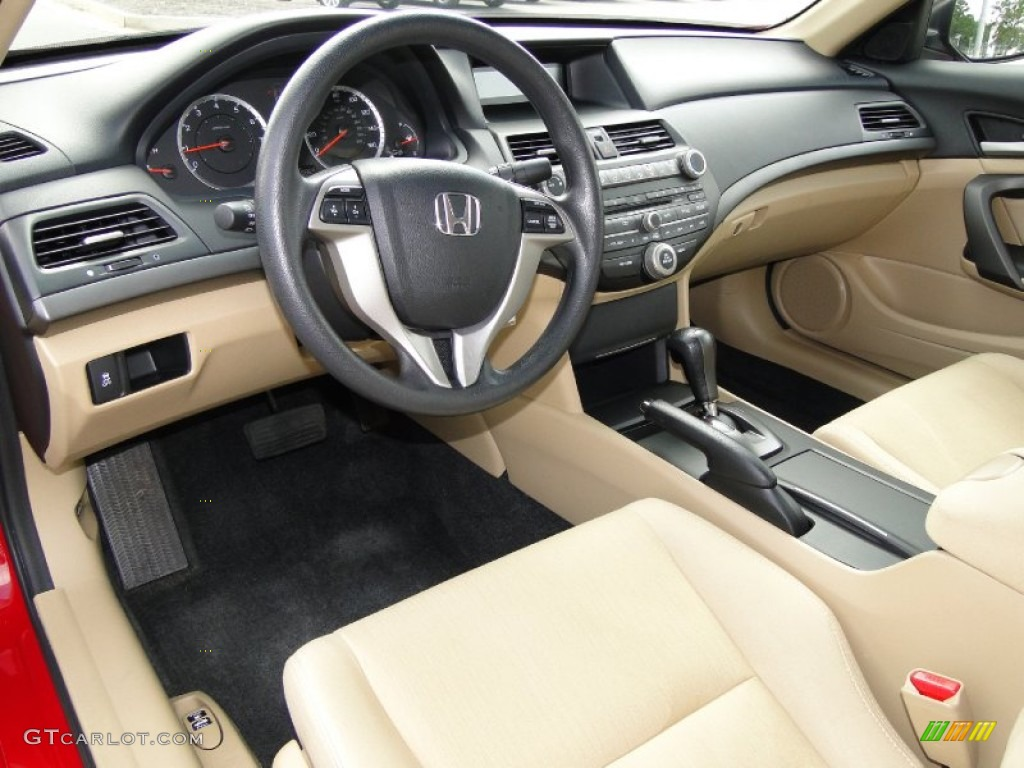 Ivory Interior 2011 Honda Accord Lx S Coupe Photo