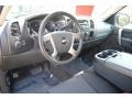 Ebony Prime Interior Photo for 2011 Chevrolet Silverado 1500 #54490820