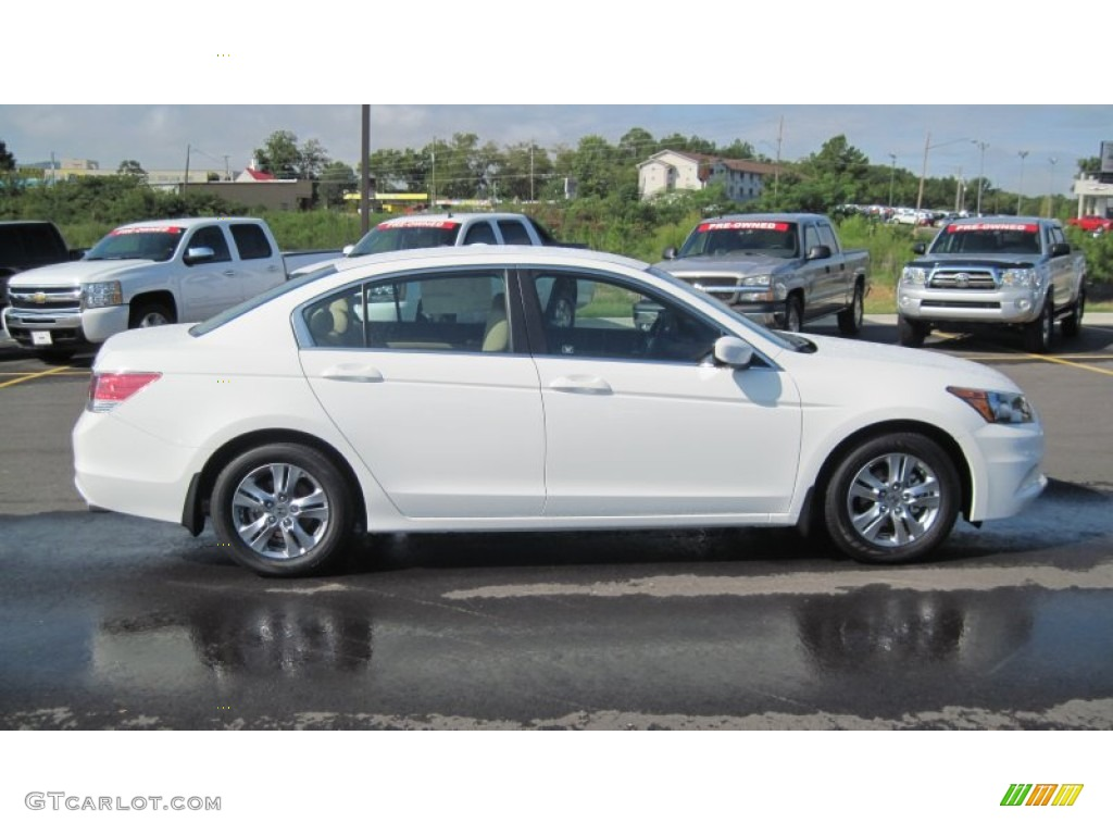 Taffeta White 2012 Honda Accord SE Sedan Exterior Photo #54492746