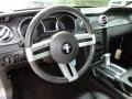 Black 2006 Ford Mustang V6 Premium Coupe Steering Wheel