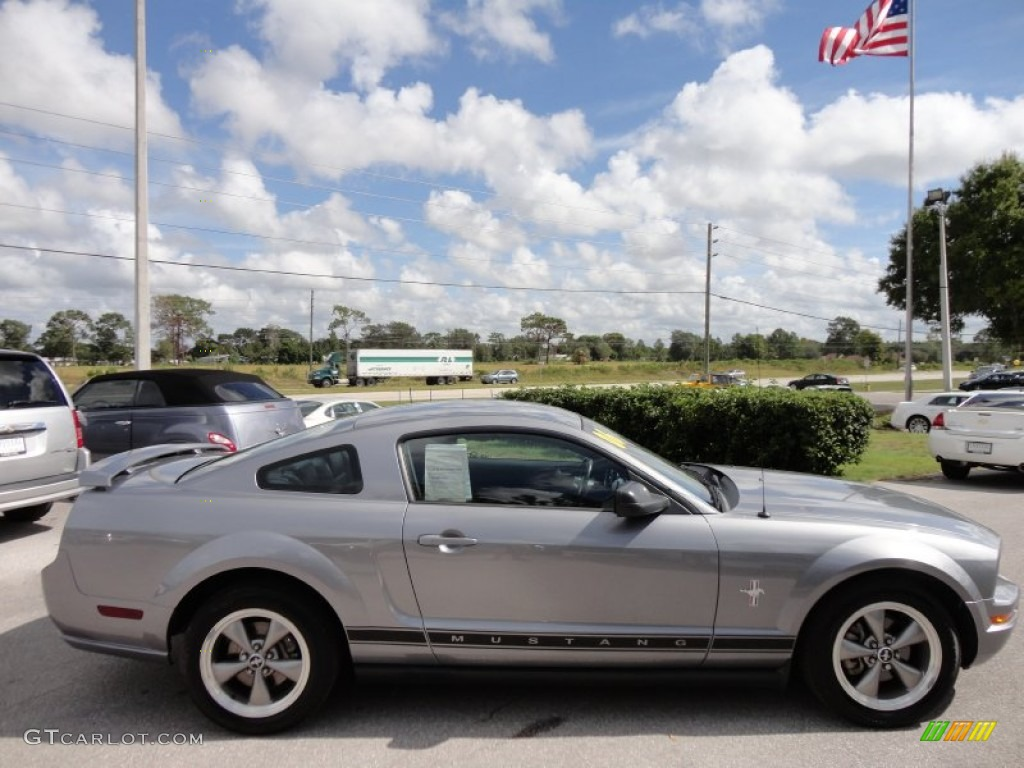 Tungsten Grey Metallic 2006 Ford Mustang V6 Premium Coupe Exterior Photo #54492893