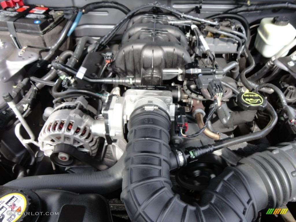 2006 Ford Mustang V6 Premium Coupe 4.0 Liter SOHC 12-Valve V6 Engine Photo #54492989